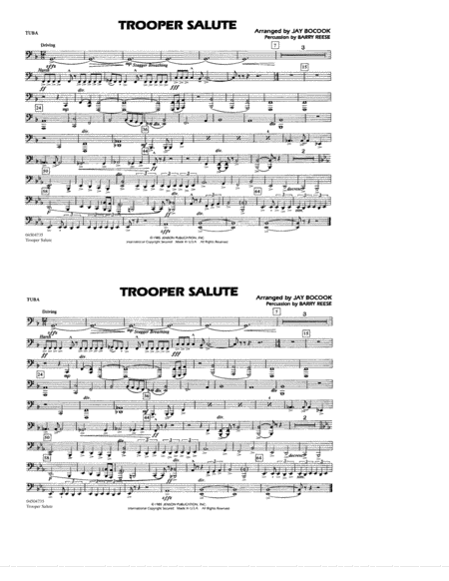 Trooper Salute - Tuba