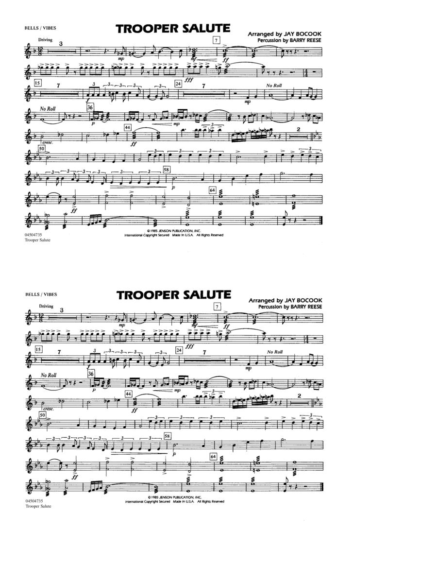 Trooper Salute - Bells/Vibes