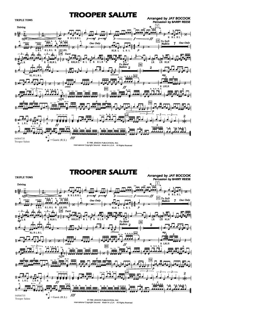 Trooper Salute - Tri-Toms