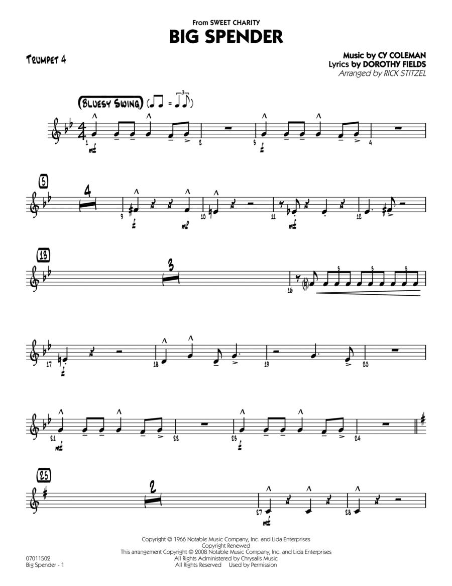 Big Spender - Trumpet 4