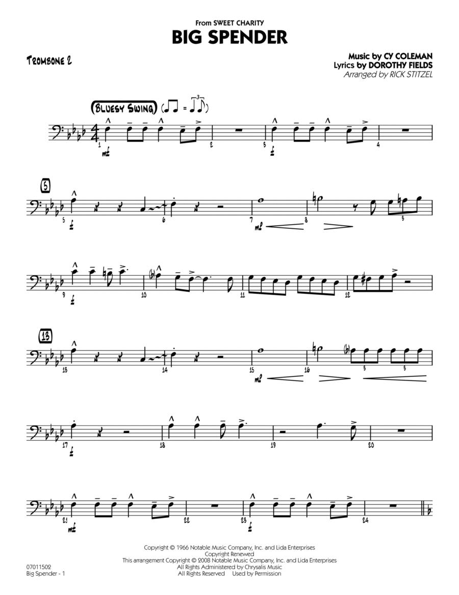 Big Spender - Trombone 2