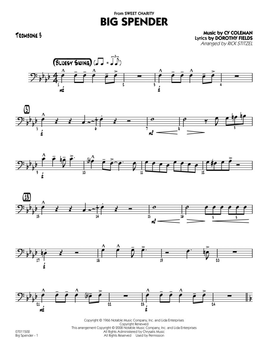 Big Spender - Trombone 3