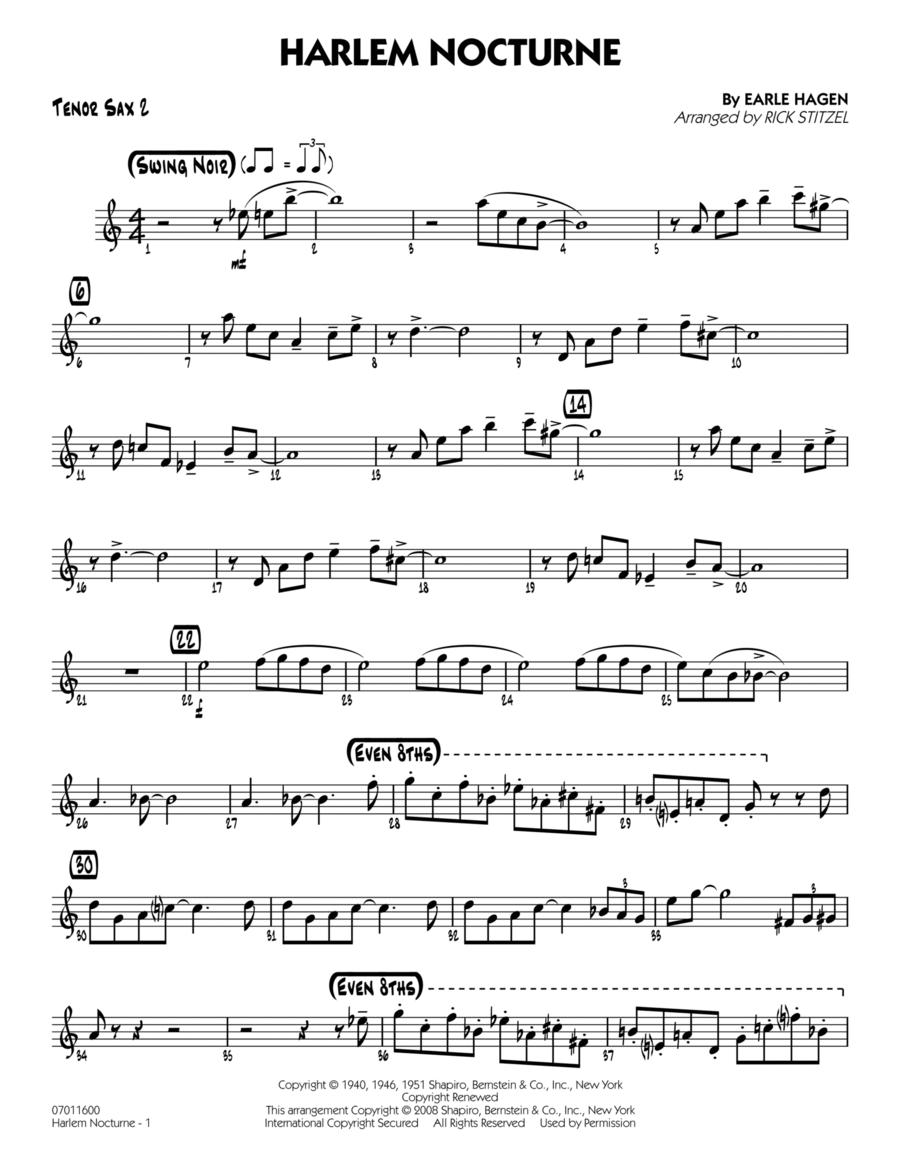 Harlem Nocturne - Tenor Sax 2