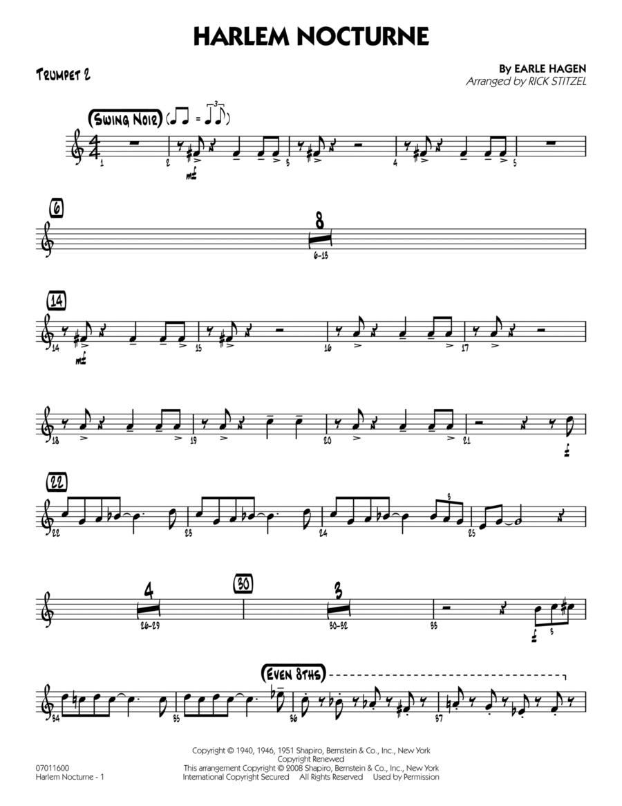 Harlem Nocturne - Trumpet 2