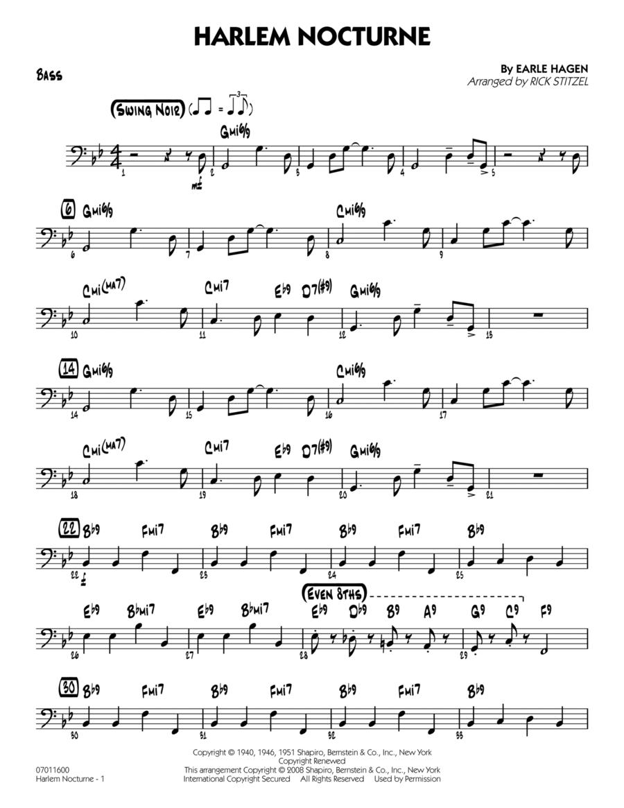 Harlem Nocturne - Bass