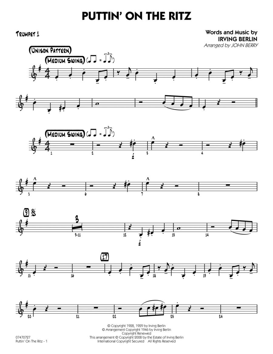 Puttin' On The Ritz - Trumpet 1