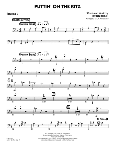 puttin on the ritz sheet music pdf