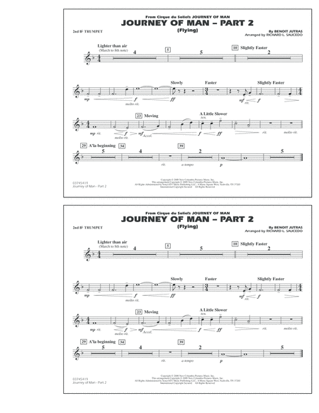 Journey of Man - Part 2 (Flying) - 2nd Bb Trumpet