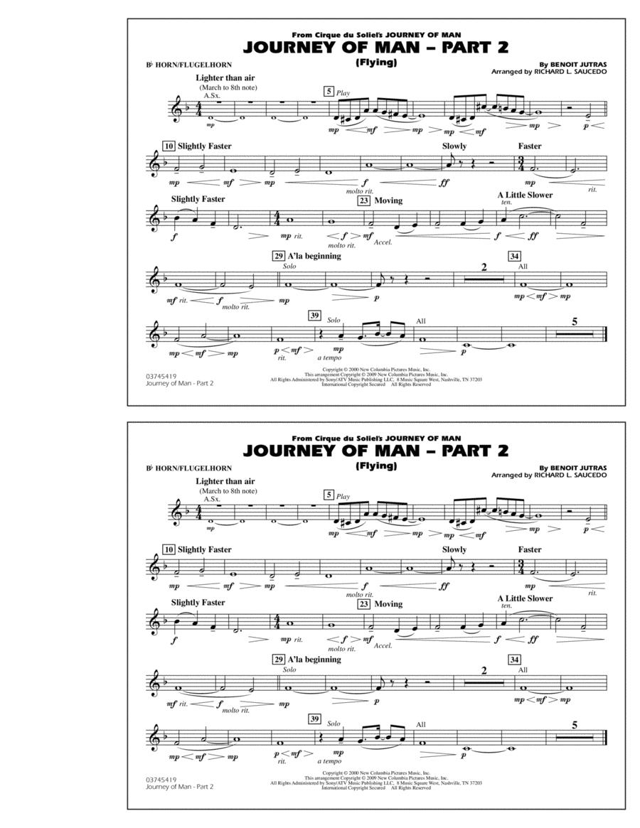 Journey of Man - Part 2 (Flying) - Bb Horn/Flugelhorn