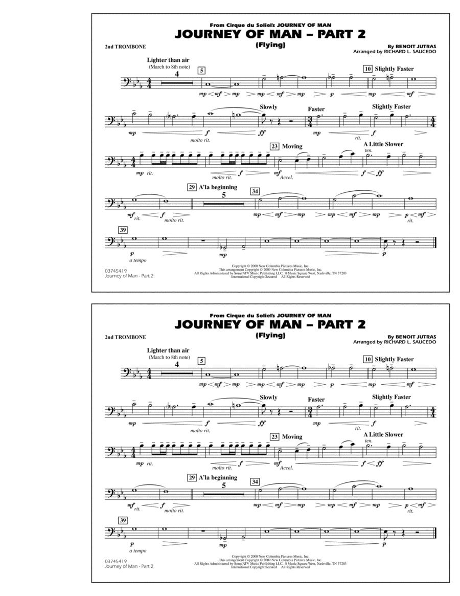 Journey of Man - Part 2 (Flying) - 2nd Trombone