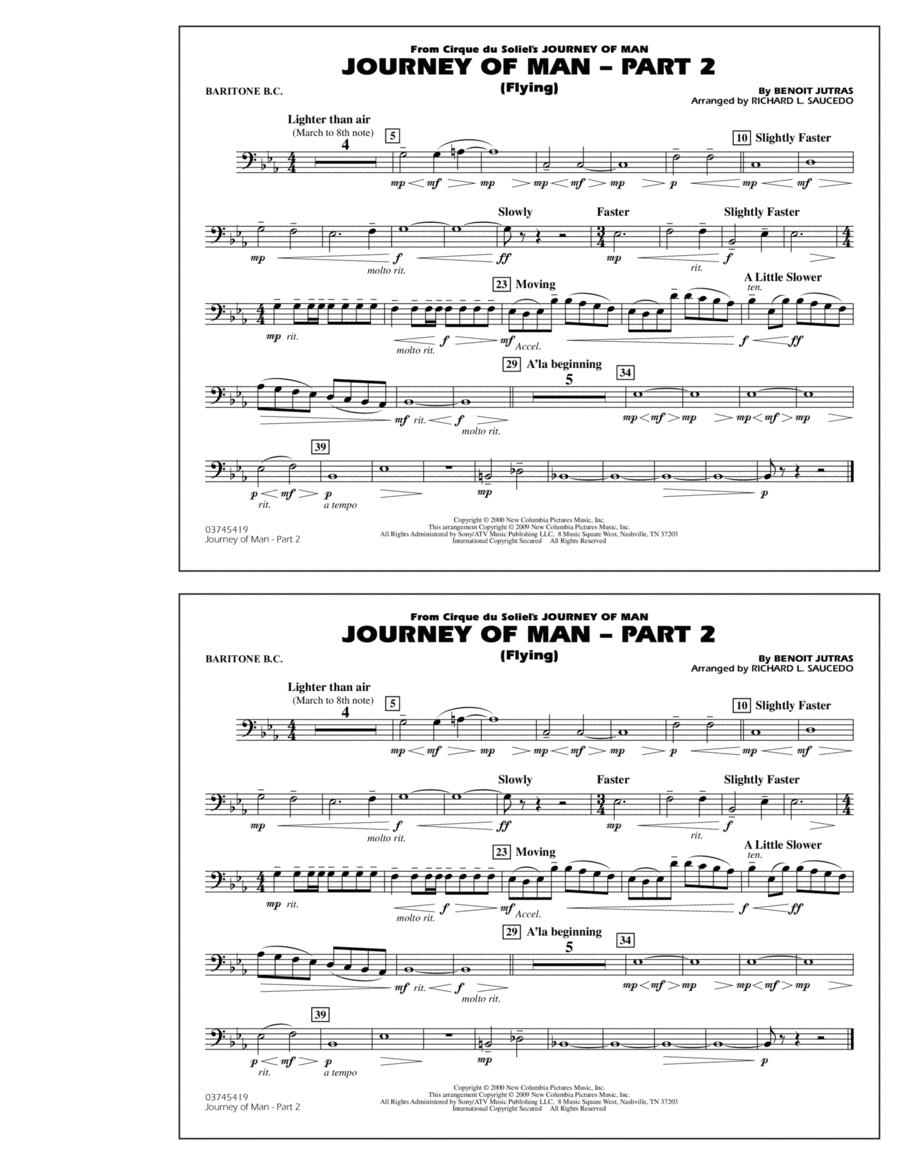 Journey of Man - Part 2 (Flying) - Baritone B.C.