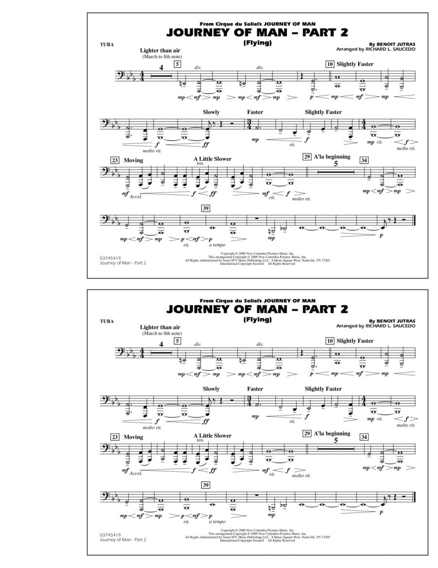 Journey of Man - Part 2 (Flying) - Tuba