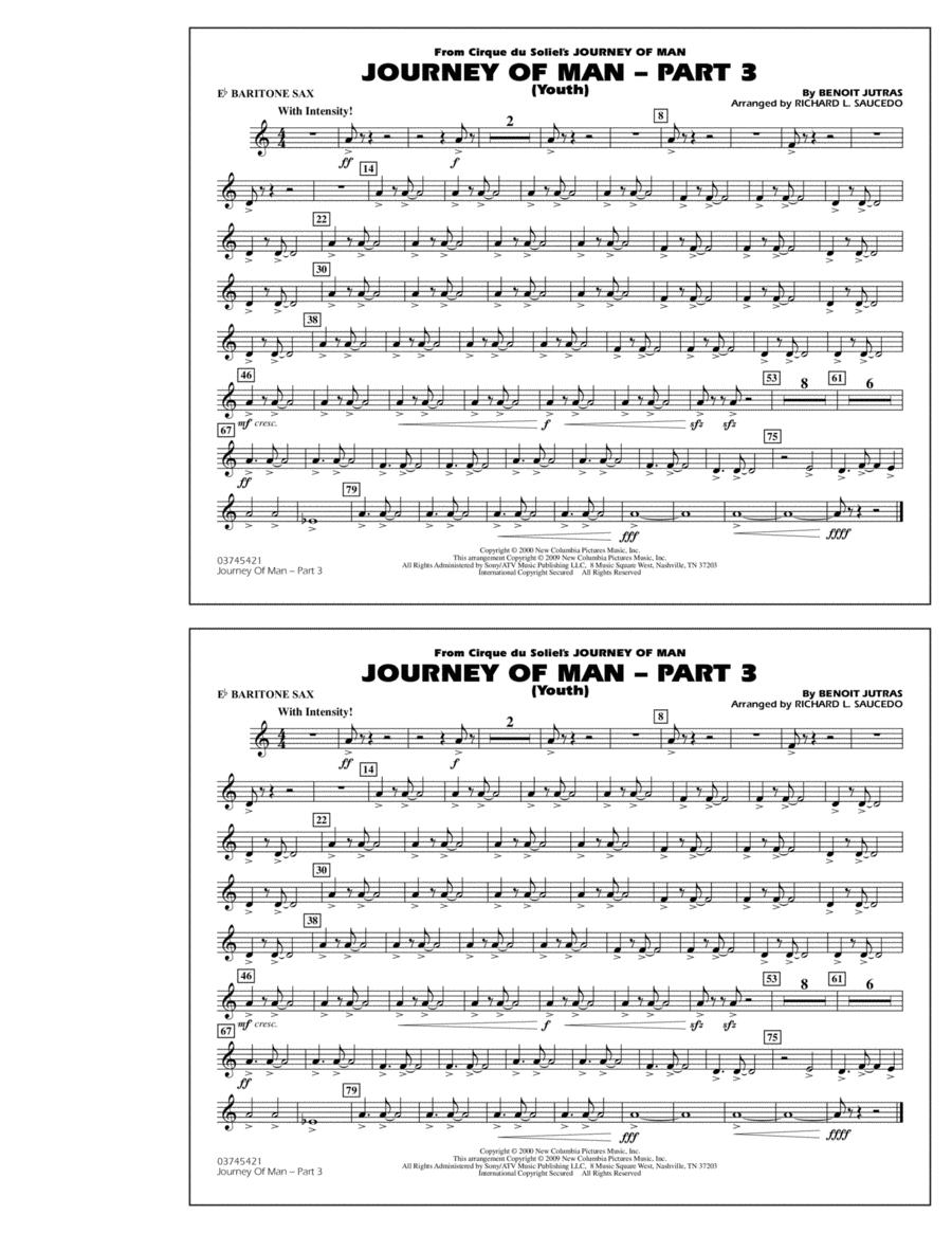 Journey of Man - Part 3 (Youth) - Eb Baritone Sax