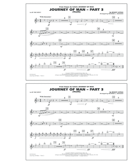 Journey of Man - Part 3 (Youth) - 1st Bb Trumpet