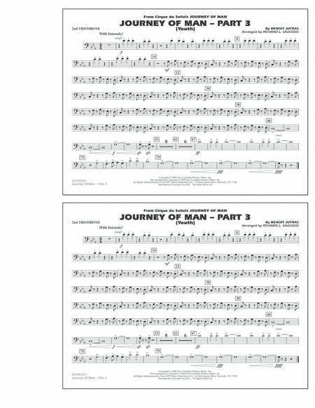 Journey of Man - Part 3 (Youth) - 2nd Trombone