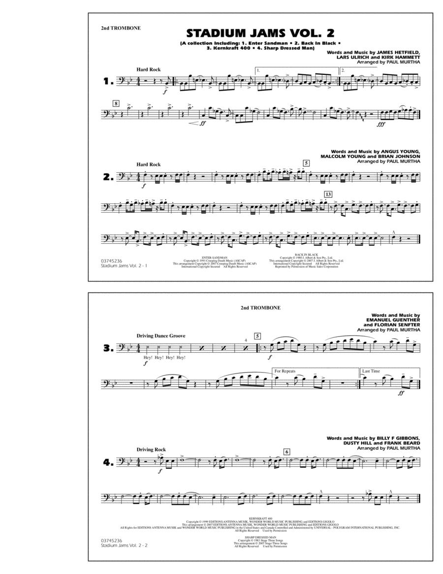 Stadium Jams - Vol. 2 - 2nd Trombone