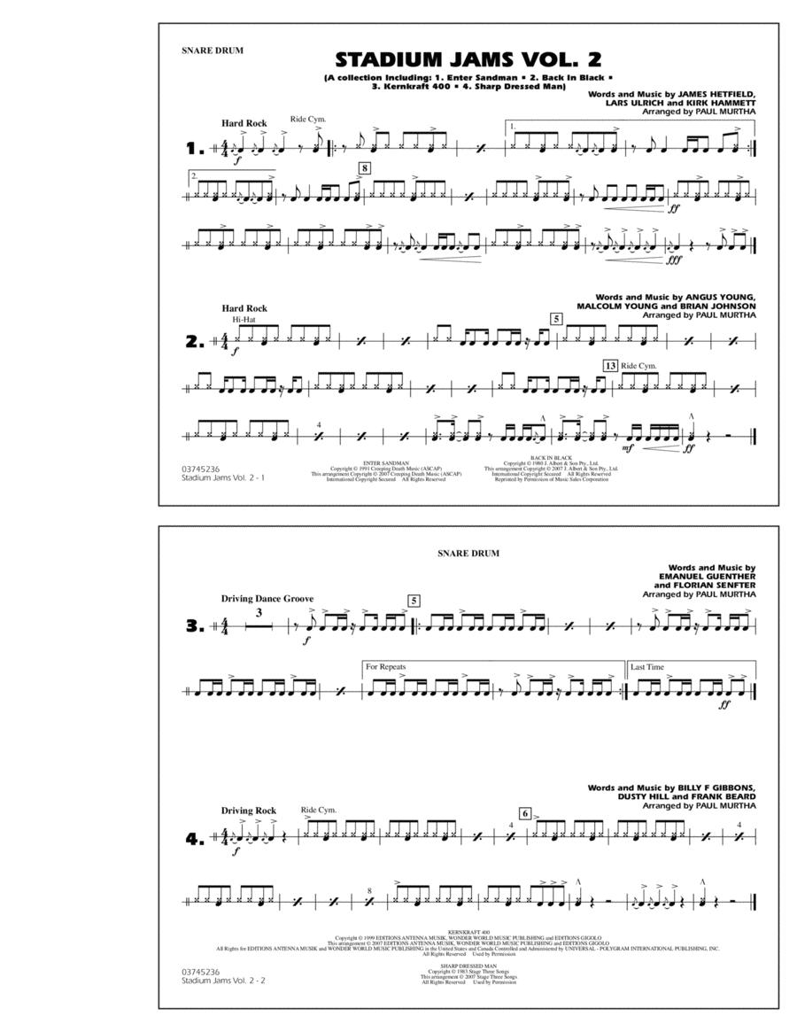 Stadium Jams - Vol. 2 - Snare Drum