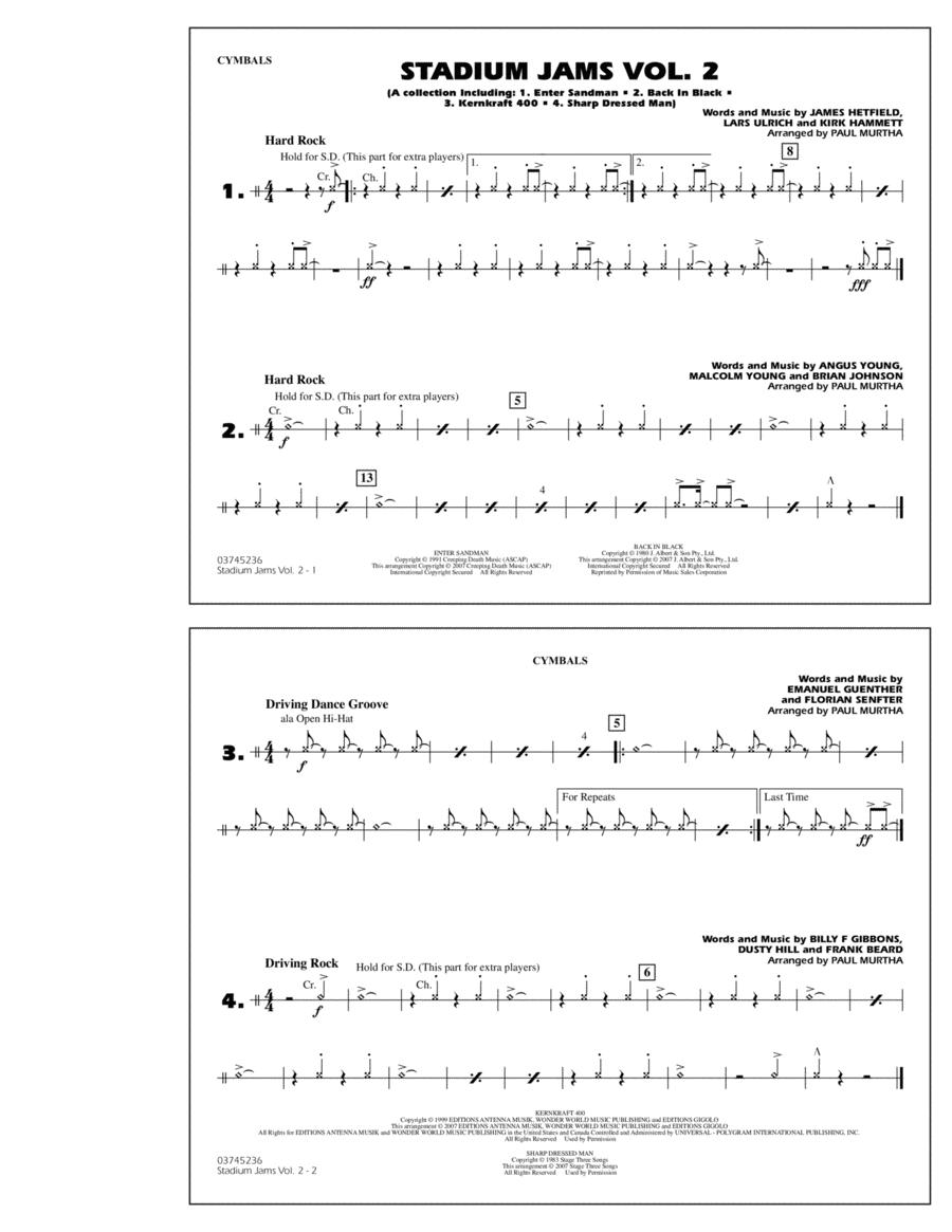 Stadium Jams - Vol. 2 - Cymbals