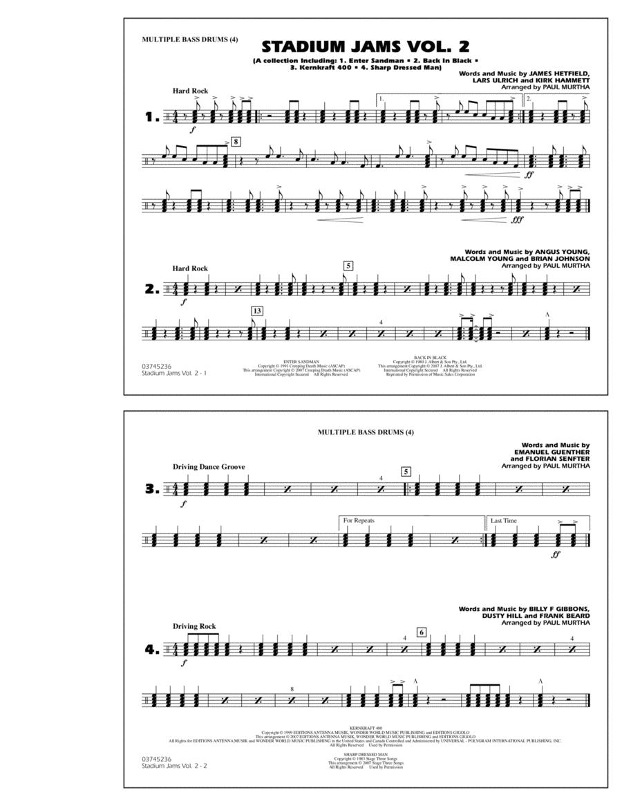 Stadium Jams - Vol. 2 - Multiple Bass Drums