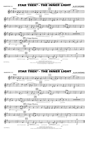 Star Trek - The Inner Light - Baritone T.C.
