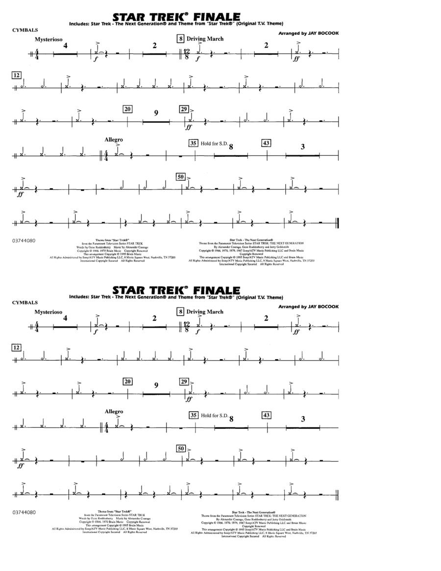 Star Trek Finale - Cymbals