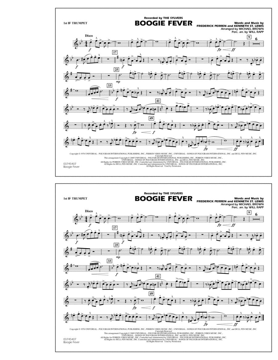 Boogie Fever - 1st Bb Trumpet
