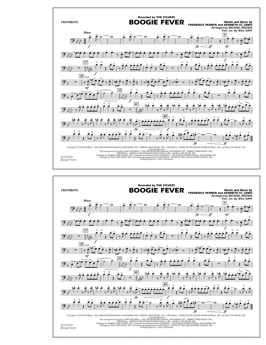 Boogie Fever - Trombone