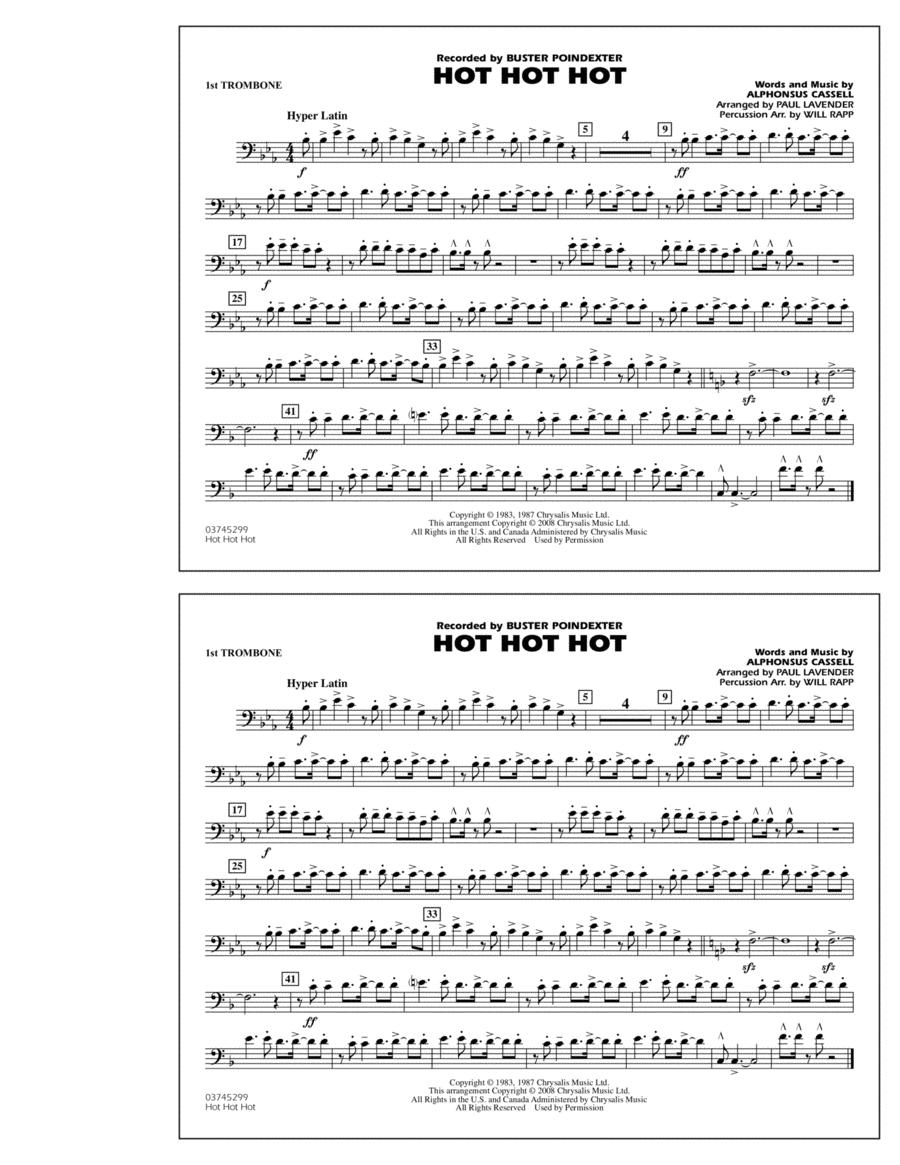 Hot Hot Hot - 1st Trombone