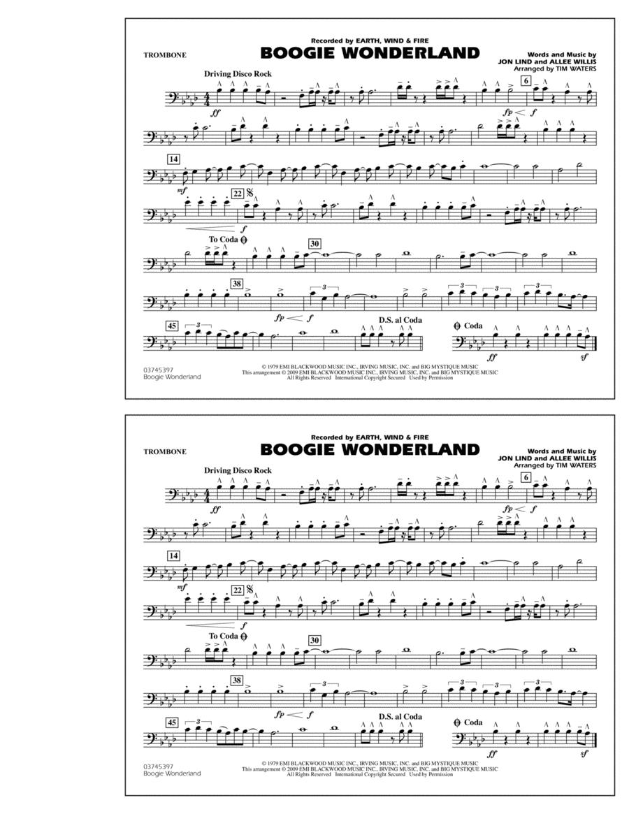 Boogie Wonderland - Trombone