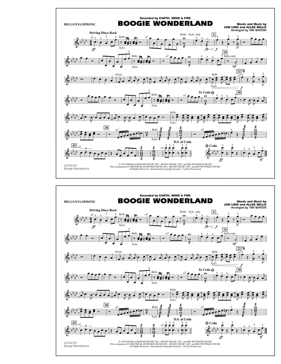 Boogie Wonderland - Bells/Xylophone