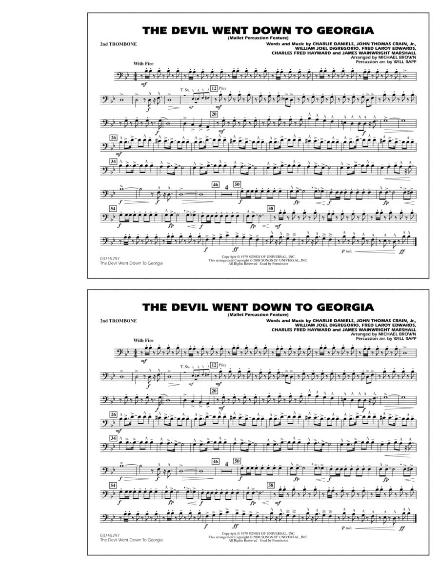 The Devil Went Down to Georgia - 2nd Trombone