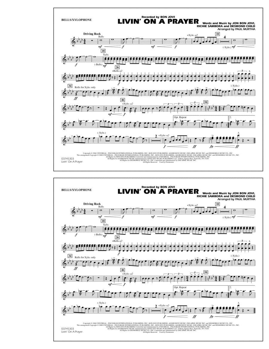 Livin' on a Prayer - Bells/Xylophone