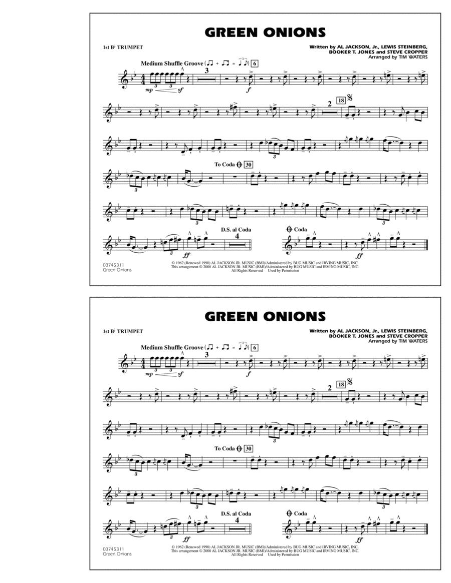 Green Onions - 1st Bb Trumpet