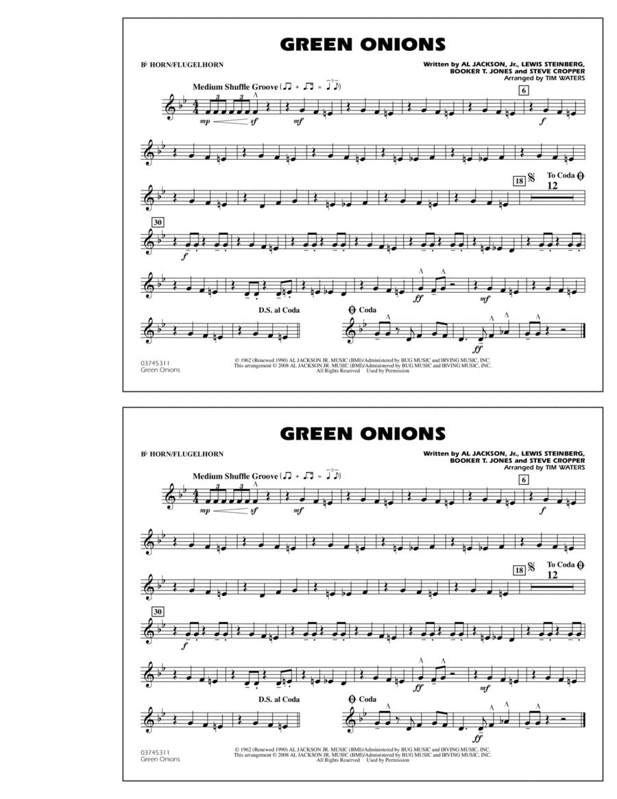Green Onions - Bb Horn/Flugelhorn