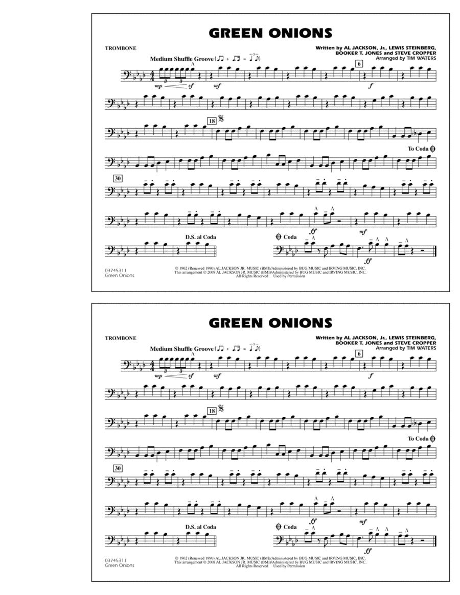 Green Onions - Trombone
