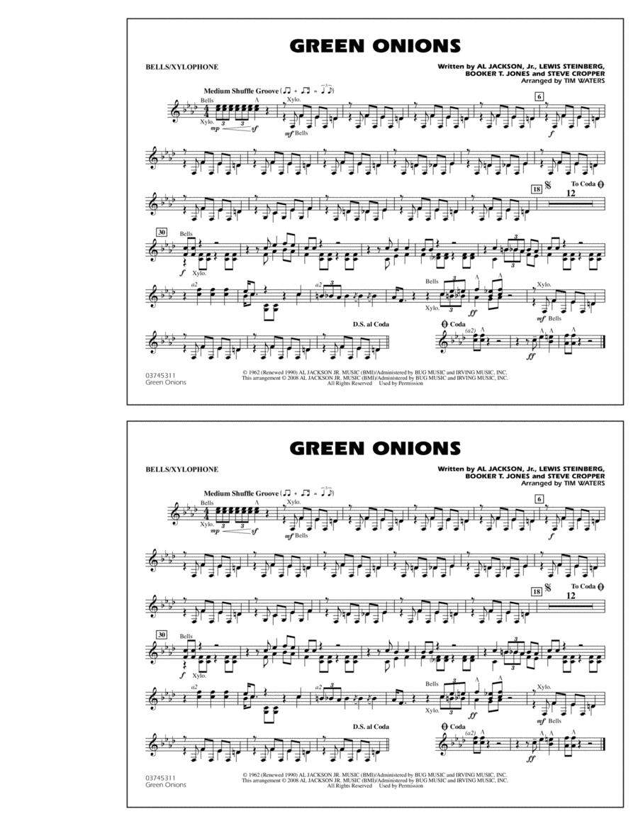 Green Onions - Bells/Xylophone