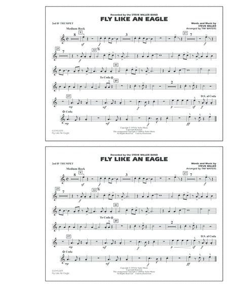 Fly Like An Eagle - 2nd Bb Trumpet