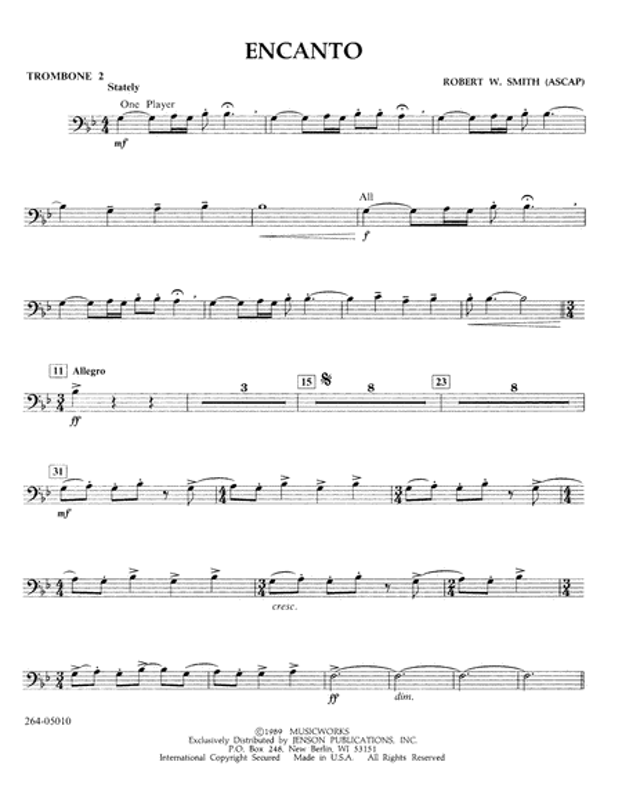 Encanto - Trombone 2