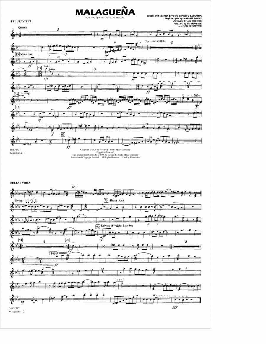 Malaguena - Bells/Vibes