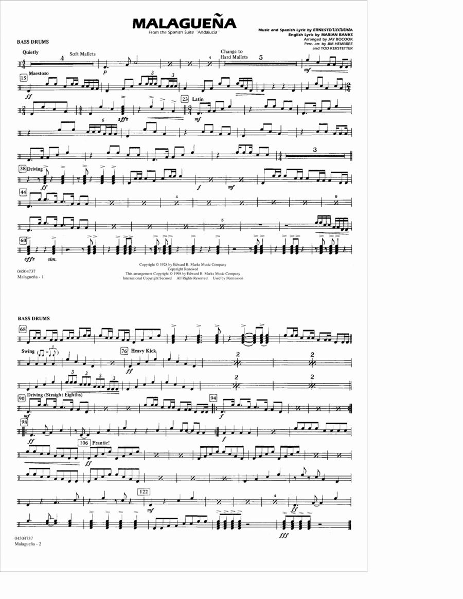 Malaguena - Multiple Bass Drums