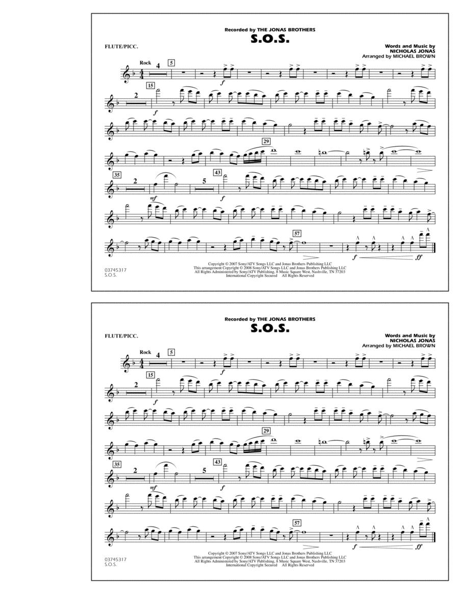 S.O.S. - Flute/Piccolo