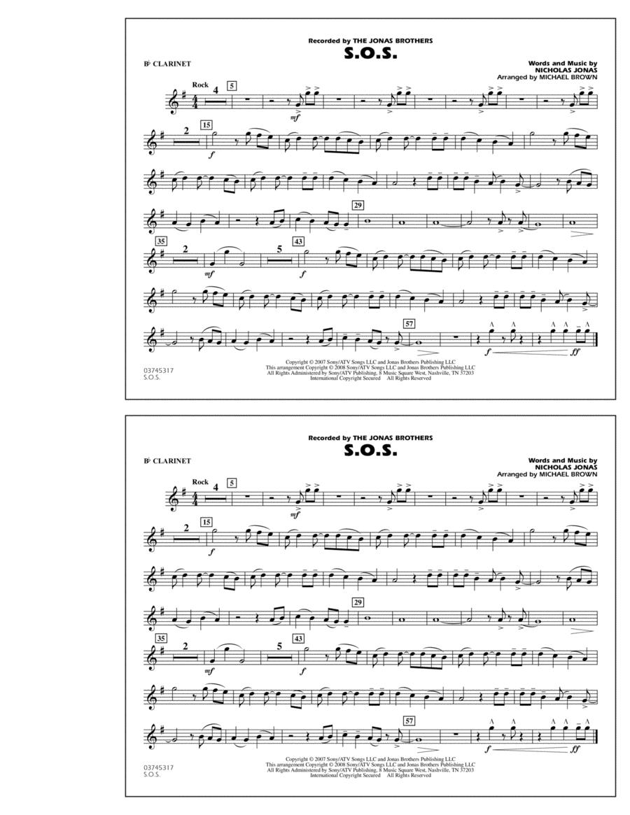 S.O.S. - Bb Clarinet