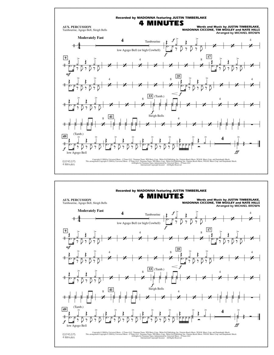 4 Minutes - Aux Percussion