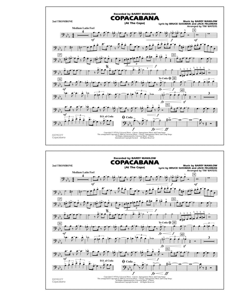 Copacabana (At the Copa) - 2nd Trombone