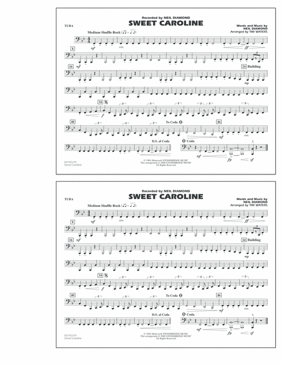 Sweet Caroline - Tuba