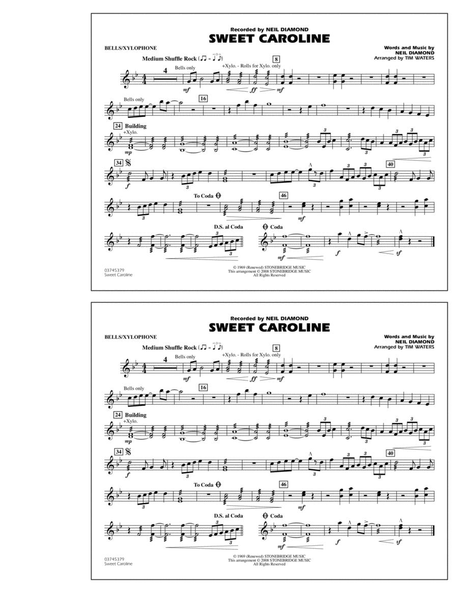 Sweet Caroline - Bells/Xylophone