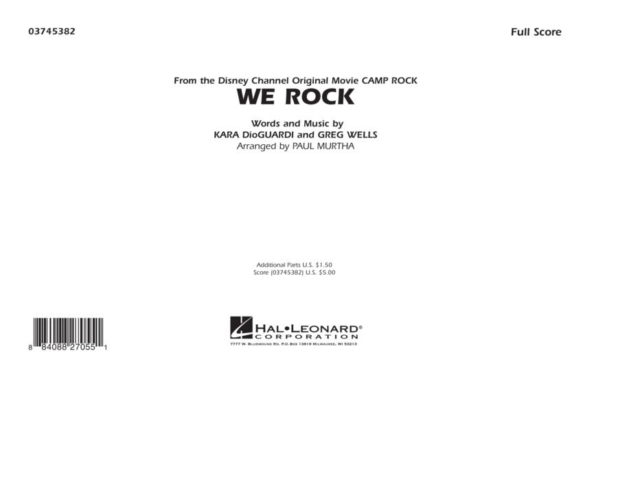 We Rock (from Disney's