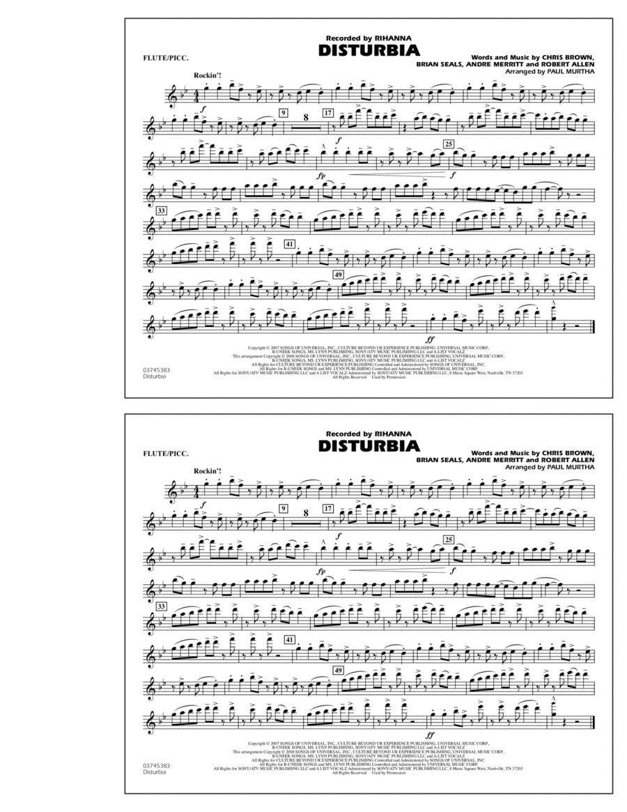 Disturbia - Flute/Piccolo