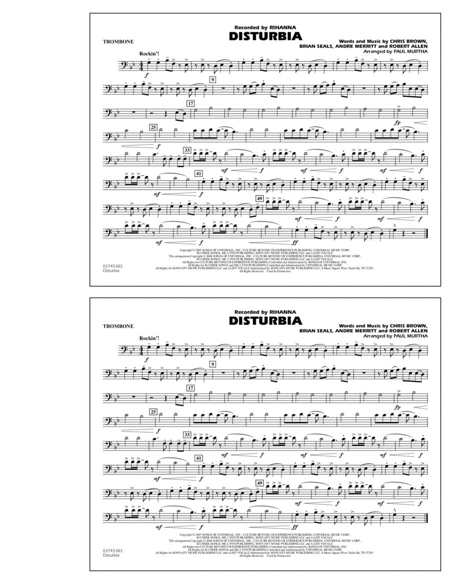 Disturbia - Trombone