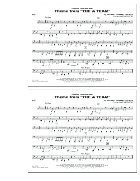 Theme from The A-Team - Tuba